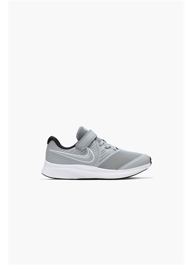 Nike Unisex Çocuk Siyah Spor Ayakkabı AT1801 - 005 NIKE STAR RUNNER 2 (PSV) Siyah
